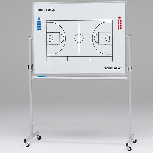 【受注生産品】【特殊送料】トーエイライト TOEI LIGHT 移動式作戦板 バスケット B-2546