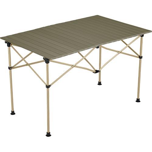 コールマン Coleman キャンプ用品 イージーロール2ステージテーブル/110 オリーブ 2000034679