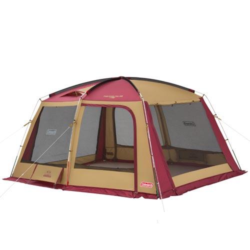 コールマン Coleman キャンプ タフスクリーンタープ/400 バーガンディ 2000032599