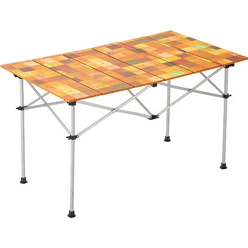 コールマン Coleman キャンプ ナチュラルモザイク ロールテーブル120 2000031293