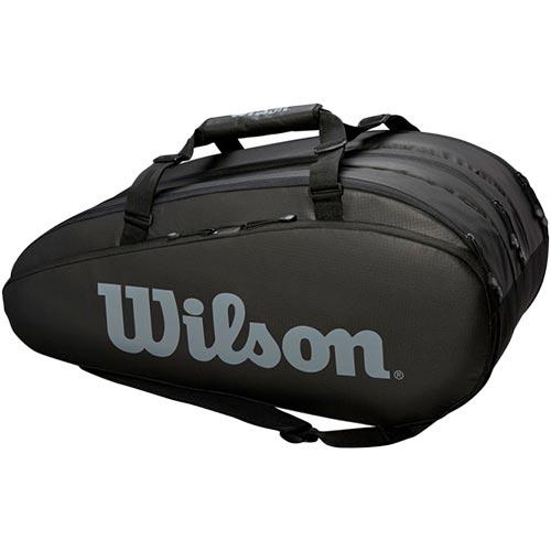 ウイルソン Wilson テニスバッグ TOUR 3 COMP BKGY ブラック・グレー WRZ849315