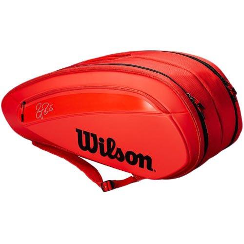 ウイルソン Wilson テニスバッグ フェデラー FEDERER DNA 12 PACK INFRARED WRZ830812