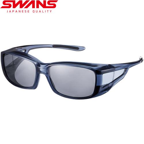 メガネの上からかける ドライブ 釣り 普段使い 暑さ対策 セール 30%OFF スワンズ オーバーグラス SCLA NEW ARRIVAL 偏光 クリアスモーク SWANS OG4-0051-Over 新色 Glasses