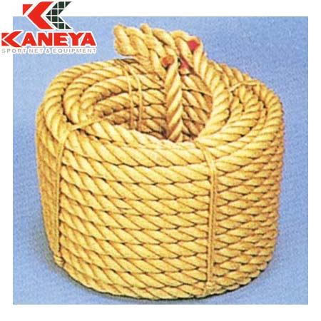 【特殊送料】カネヤ KANEYA 麻綱引きロープ36mm 50m K-1532L