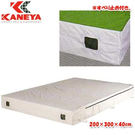 【特殊送料】カネヤ KANEYA エバーマット屋内用 200×300×40cm K-4083