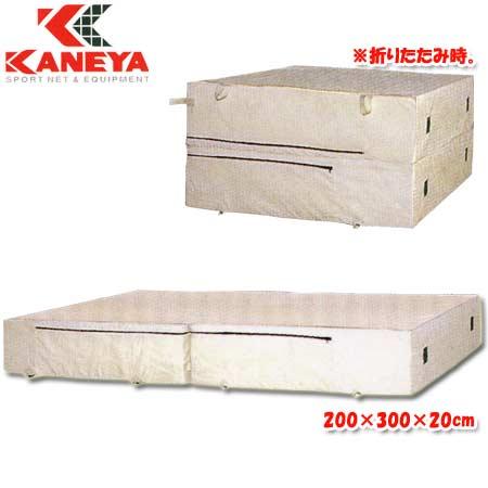 【特殊送料】カネヤ KANEYA エバーマット屋内用 200×300×20cm K-4051
