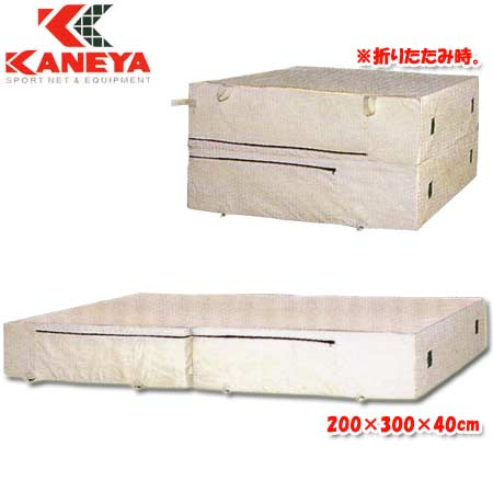 【特殊送料】カネヤ KANEYA エバーマット屋内用 200×300×40cm K-4053