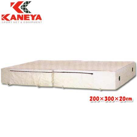 【特殊送料】カネヤ KANEYA エバーマット屋内用 200×300×20cm K-4091