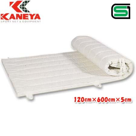【特殊送料】カネヤ KANEYA 体操マット合成スポンジ 120cm×600cm K-4108