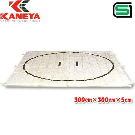 【受注生産品】カネヤ KANEYA 土俵マット 300cm×300cm K-4462