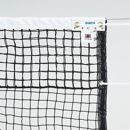 【特殊送料】カネヤ KANEYA 硬式テニスネット PE60W DY 黒 K-1207DY
