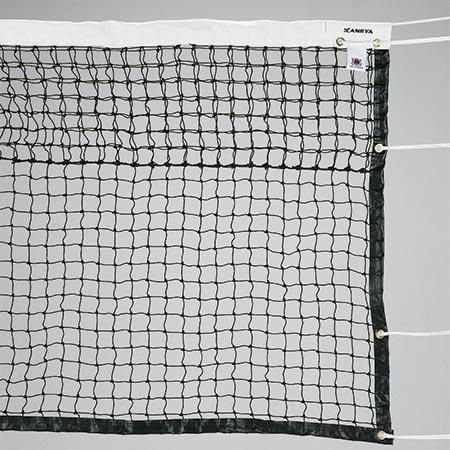 【特殊送料】カネヤ KANEYA 硬式テニスネット PE45W DY 黒 K-1190DY
