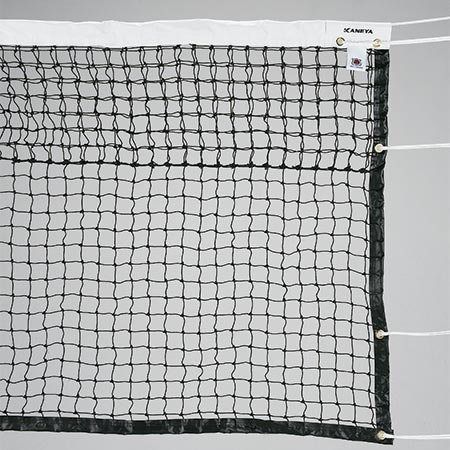 【特殊送料】カネヤ KANEYA 硬式テニスネット PE45W 黒 K-1190