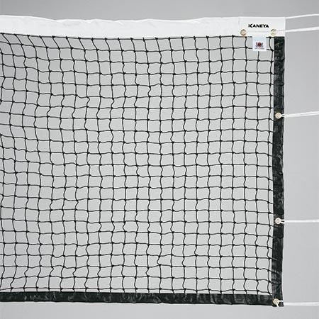 【特殊送料】カネヤ KANEYA 硬式テニスネット PE45 黒 K-1191