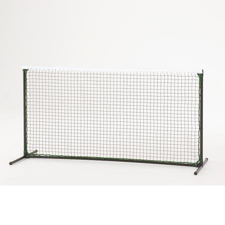 【受注生産品】カネヤ KANEYA テニスフェンスAA S 白帯付 組立 K-1982E