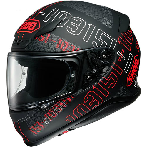 ショウエイ SHOEI Z-7 PERMUTATION TC-1 RED/BLACK M 42644