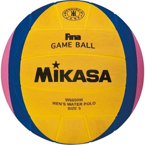 売れ筋No1公式試合球 水球 最新号掲載アイテム 男性用 ミカサ お得セット W6000W 検定球 MIKASA