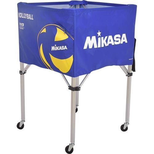 ミカサ MIKASA ボールカゴ バレーボール フレーム・幕体・キャリーケース3点セット BC-SP-H VB