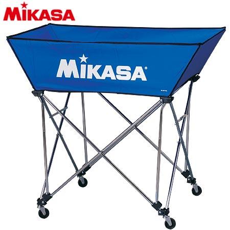 ミカサ MIKASA ボールカゴ 皿型 Mサイズ フレーム・幕体・キャリーケース3点セット BC-SP-WM BL