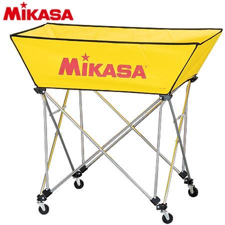ミカサ MIKASA ボールカゴ 皿型 Mサイズ フレーム・幕体・キャリーケース3点セット BC-SP-WM Y
