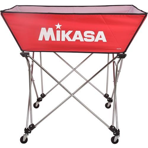 ミカサ MIKASA ボールカゴ 皿型 Lサイズ フレーム・幕体・キャリーケース3点セット BC-SP-WL R