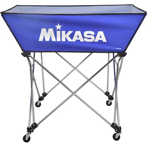 ミカサ MIKASA ボールカゴ 皿型 Lサイズ フレーム・幕体・キャリーケース3点セット BC-SP-WL BL