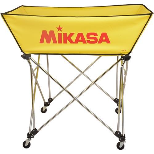 ミカサ MIKASA ボールカゴ 皿型 Lサイズ フレーム・幕体・キャリーケース3点セット BC-SP-WL Y