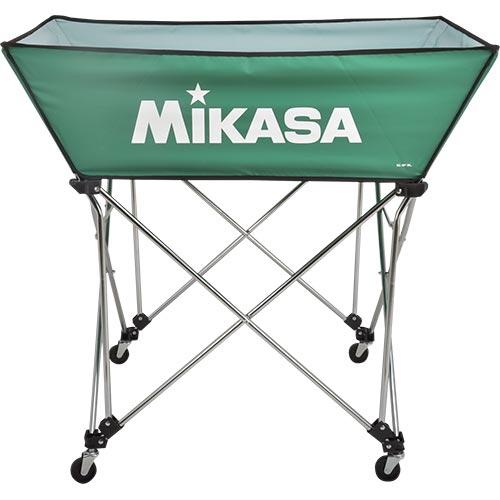 ミカサ MIKASA ボールカゴ 皿型 Lサイズ フレーム・幕体・キャリーケース3点セット BC-SP-WL G