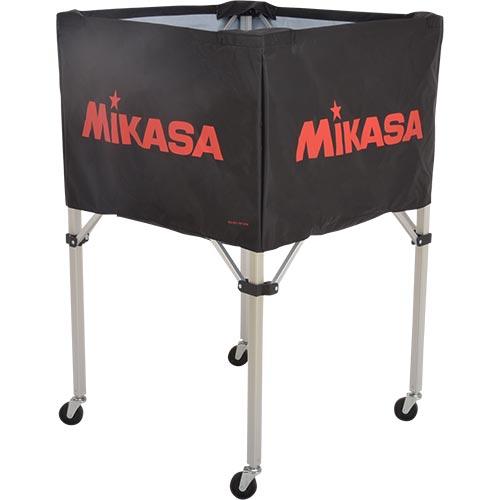 ミカサ MIKASA ボールカゴ フレーム・幕体・キャリーケース3点セット BC-SP-H BK