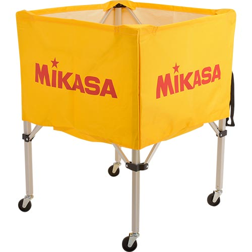 ミカサ MIKASA ボールカゴ フレーム・幕体・キャリーケース3点セット BC-SP-S Y