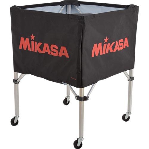 ミカサ MIKASA ボールカゴ フレーム・幕体・キャリーケース3点セット BC-SP-S BK