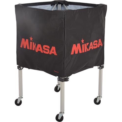 ミカサ MIKASA ボールカゴ フレーム・幕体・キャリーケース3点セット BC-SP-SS BK