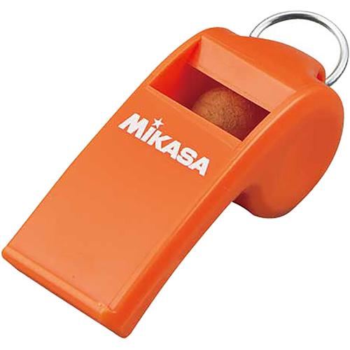 ホイッスル 割引 笛 レフリー 審判 セール 高額売筋 14%OFF ミカサ オレンジ PUL10-O MIKASA コルク入り