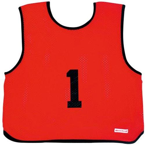 ミカサ MIKASA ゲームジャケット ソフトバレー 10枚組 レッド GJSV10-R