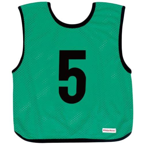 ミカサ MIKASA ジュニアサイズ ゲームジャケット 10枚組 グリーン GJJ210-G