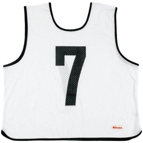 ミカサ MIKASA ゲームジャケット 10枚組 ホワイト GJR210-W