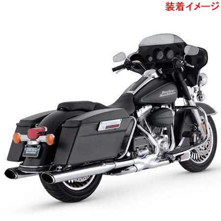 バンスアンドハインズ Vance&Hines TWIN SLASH OVAL S/O 1801-0391