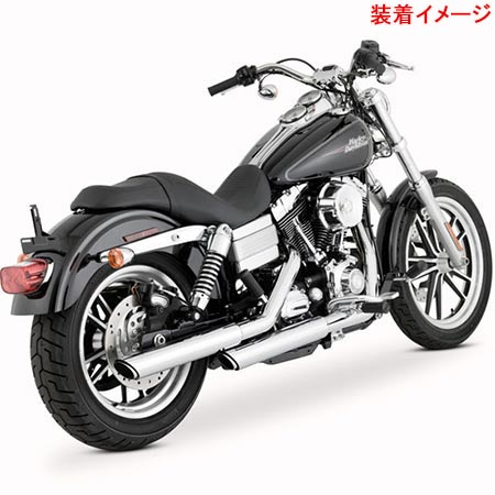 バンスアンドハインズ Vance&Hines TWIN SLASH 3inch S/O 1801-0404