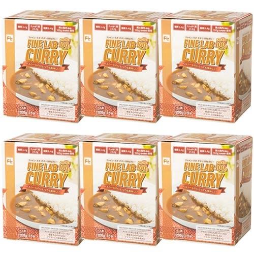 <title>アスリート飯 低糖質 低脂質 鶏胸肉 トレーニング 健康食品 ファインラボ 爆買いセール チキン100gカレー 200g×5袋 FLC5 6個セット 30食分</title>