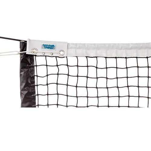 【特殊送料】三和体育 SANWATAIKU 硬式テニスネット ブラック S-2339