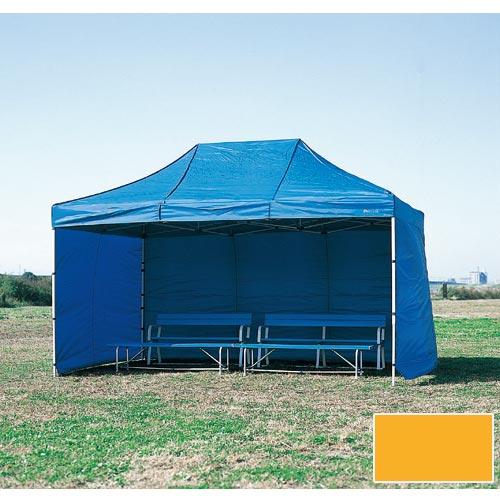 【受注生産品】【特殊送料】三和体育 SANWATAIKU 横幕 1枚 かんたんてんと3 切妻型用 オレンジ 450cm S-7704