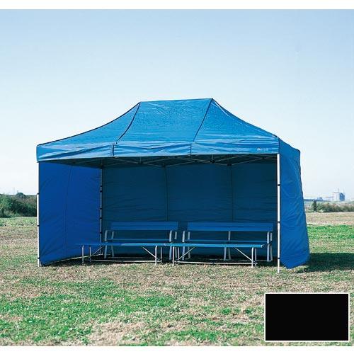 【受注生産品】【特殊送料】三和体育 SANWATAIKU 横幕 1枚 かんたんてんと3 切妻型用 ブラック 600cm S-7725