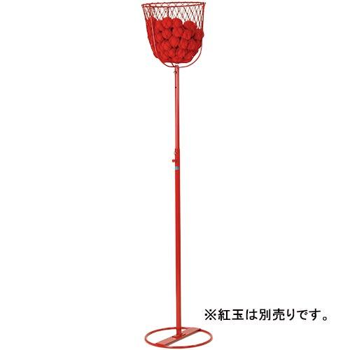 【特殊送料】三和体育 SANWATAIKU 玉入台 ネット付 赤 S-1548
