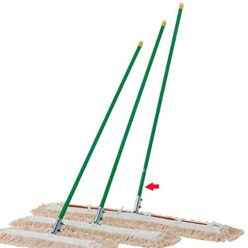 【特殊送料】三和体育 SANWATAIKU 体育館モップ 白 120cm S-3916