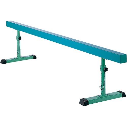 三和体育 SANWATAIKU 平均台 鉄脚調節式 300×55~80×10cm S-8508
