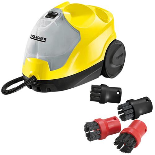 ケルヒャー KARCHER SC4 スチームクリーナー 洗浄器+スチームクリーナー用ブラシ KAR-0033