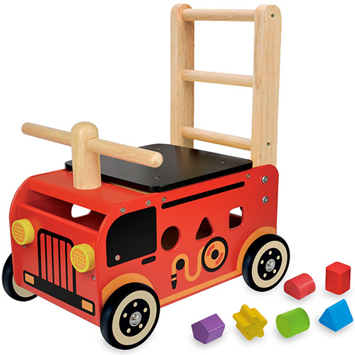 アイムトイ I'm TOY ウォーカー&ライド消防車 IM-87480