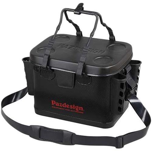パズデザイン Pazdesign フィッシング PSL バッカン IV・タイプB ブラック/レッド Sサイズ PAC-260