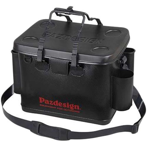パズデザイン Pazdesign PSL バッカンIV・タイプA ブラック/レッド Lサイズ PAC-265