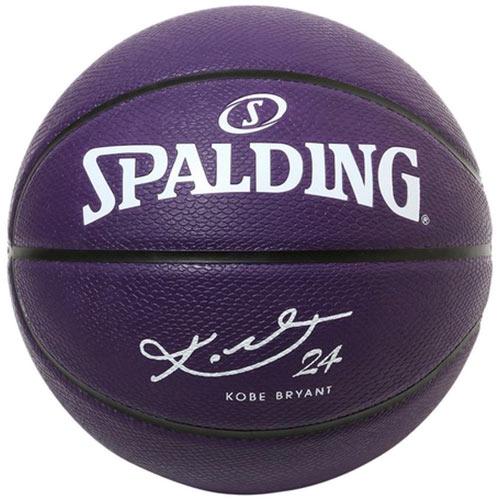 限定モデル モデル着用 注目アイテム 男子一般用 部活 スポルディング SPALDING バスケットボール パープル コービーブライアント パープルラバー 84-132Z 7号球 9000 送料無料(一部地域を除く)